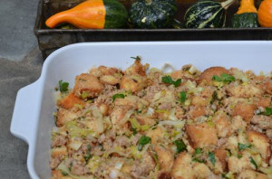blog leek stuffing
