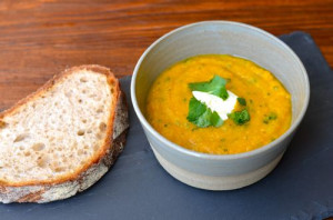 blog sweet potato lentil soup