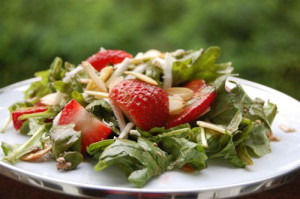 a strawberry salad 004