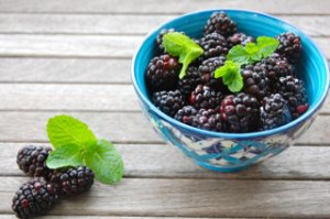 blog bowl of blackberries