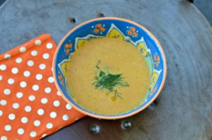 blog carrot dill soup