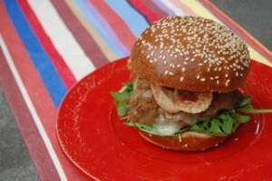 blog onion jam burger