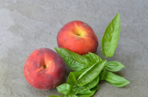 blog peach basil