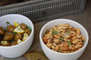 blog rosemary almonds
