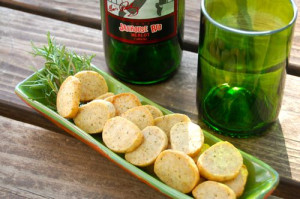 blog rosemary cheese coins