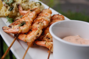 foodgawker harissa shrimp