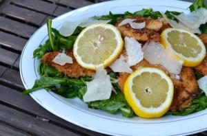 blog chic dandelion salad