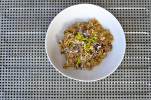blog mushroom quinoa