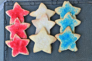 blog star cookies