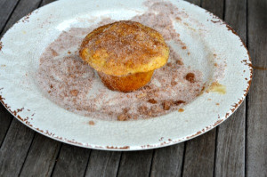 blog pumpkin spice muffin