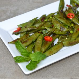 blog charred sugar snaps