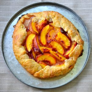 blog peach crostata